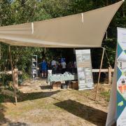 Stand d'accueil - Site V1 de Campneuseville