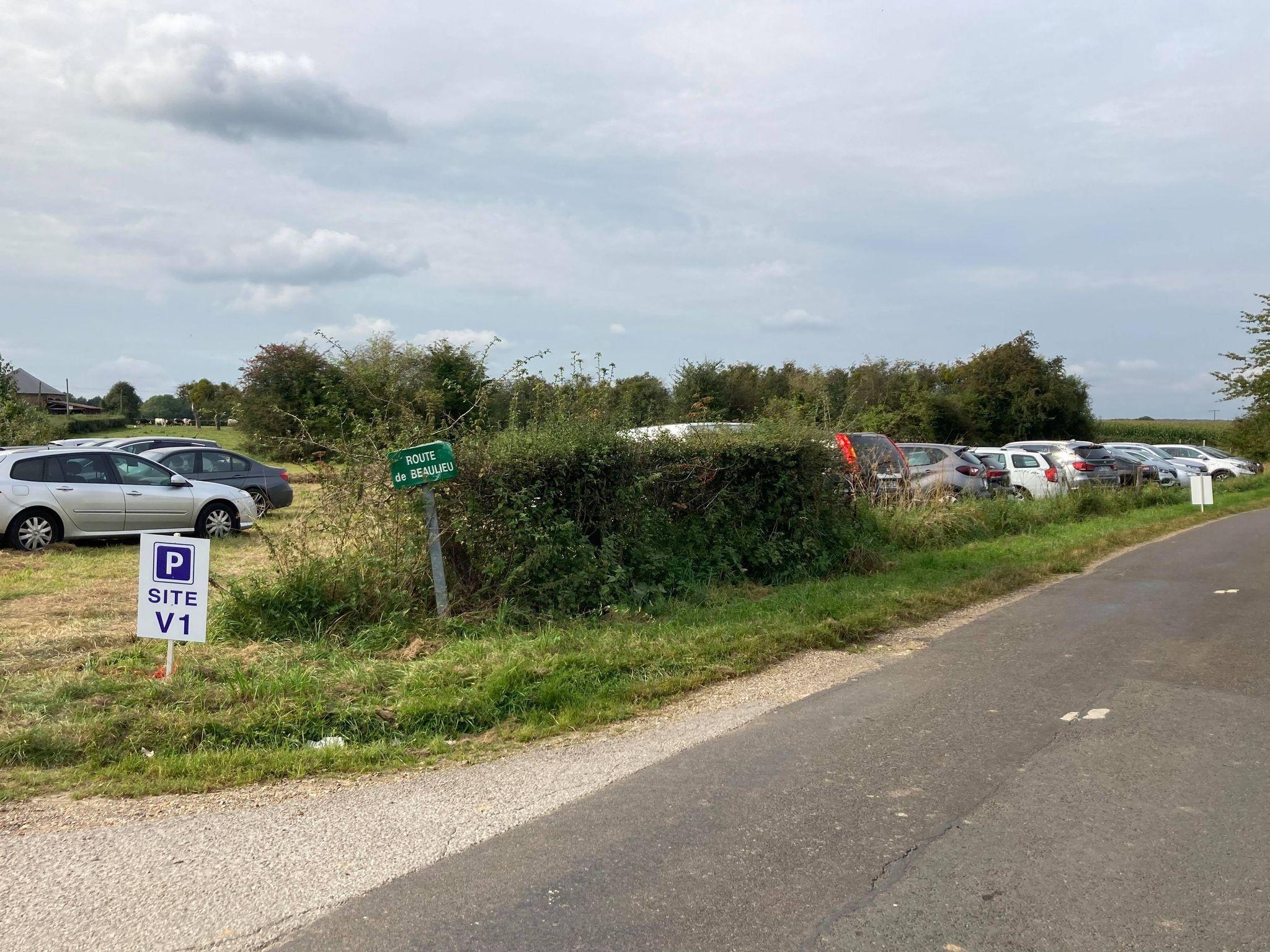 Parking - Site V1 Campneuseville jep 2021