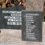 Sépulture des requis soviétiques à Dancourt