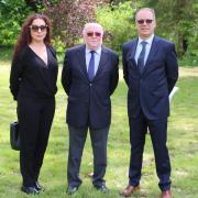 Madame Natalia Kansevitch, Monsieur Christian Roussel et Monsieur Bernard-Marie Leibovici