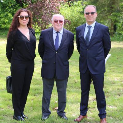 Natalia Kansevitch, Christian Roussel et Bernard-Marie Leibovici