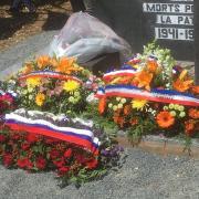 La sépulture à l'issue de la cérémonie