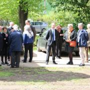 Arrivée de la délégation russe au Domaine de Penthièvre