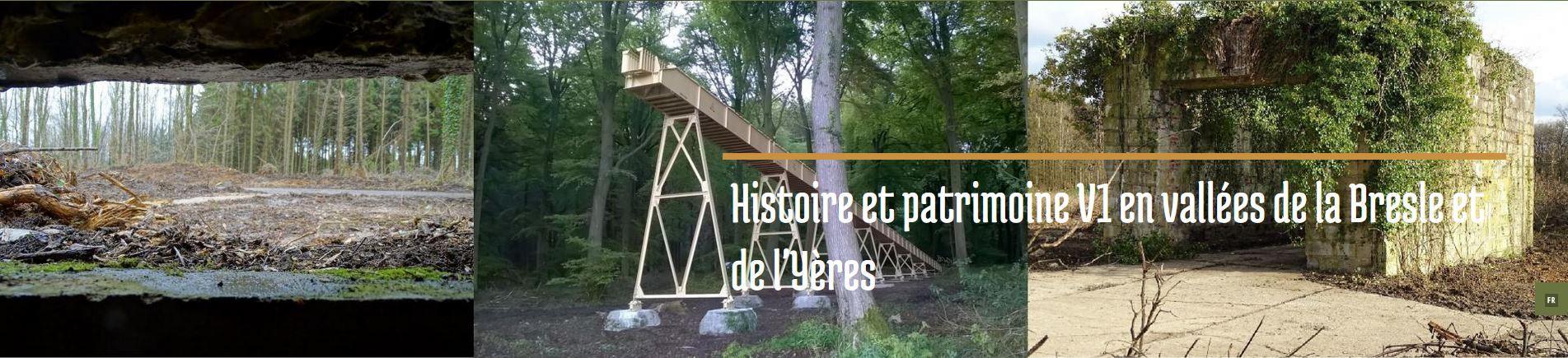 L'itinéraire de randonnée historique et de mémoire V1 en vallées de l'Yères et de la Bresle