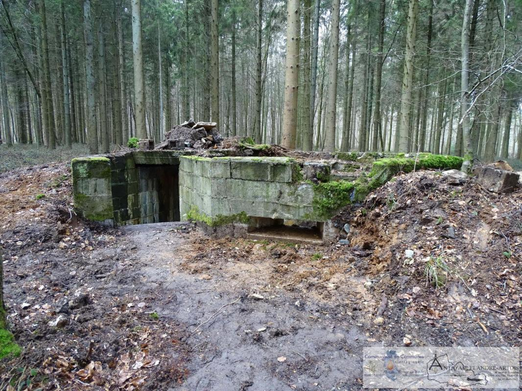 The firing bunker