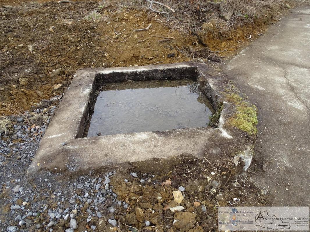 Une cuve à eau