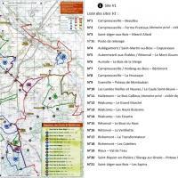Les sites V1 et les circuits de randonnée à proximité de Blangy-sur-Bresle